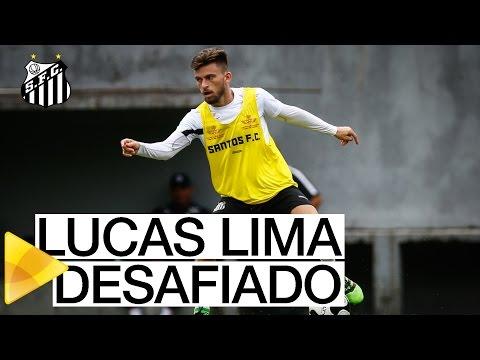 Lucas Lima e o desafio do cesto