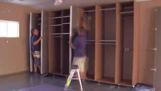 California Closets Custom Garage Makeover Time Lapse Video
