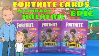 NEW FORTNITE TRADING CARDS. OPENING 3 BOXES FROM OUR CASE. + WINNERS OF OUR 100 SUB GIVEAWAY!!