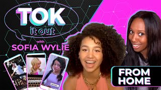 Sofia Wylie Reacts to 'High School Musical' TikToks