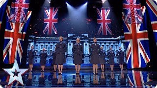 RULE BRITANNIA! The D-Day Darlings get everyone feeling patriotic! | Semi-Finals | BGT