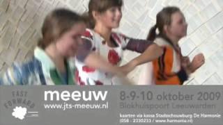 Trailer Meeuw -  Fast Forward - 8,9 en 10 okt. Blokhuispoort Leeuwarden
