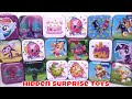 Tin Box Surprises Unboxing Blind Bags Mashems Shopkins Pumpkins Glow LOL JoJo SIWA Kids TOYS Review