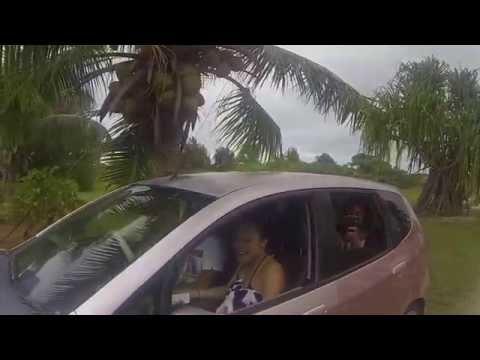 Family Trip to Aitutaki to Surprise Grandpa!
