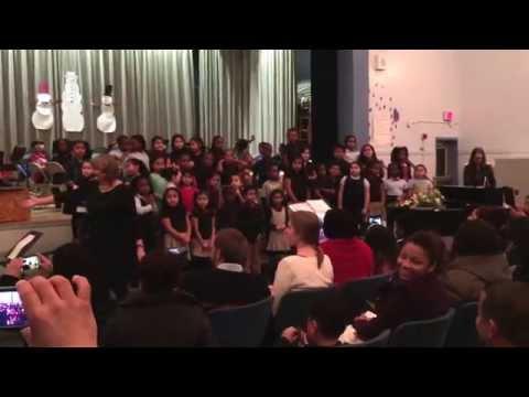 Winter Concert William Ramsay Elementary School, Alexandria VA