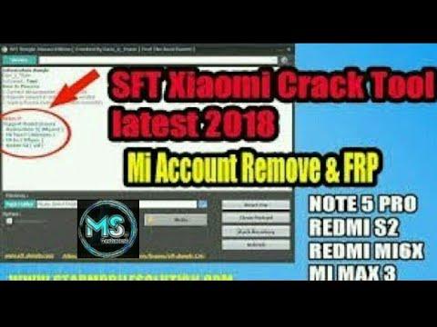SFT DONGLE Xiaomi Edition Crack tool / Mi cloud /Y2 / S2