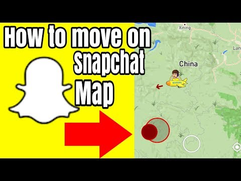 How To Move On Snapchat Map