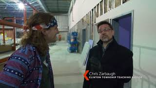 Clinton Township Building Update #3 with Frankie the Intern