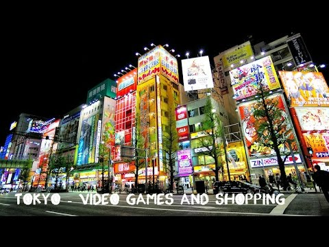 Travel vlog #21: Tokyo - Final Days, Video Games and shopping!