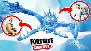 Fortnite CHOWANY W LODOWYM SMOKU❄️   Fortnite Creative