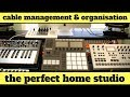 9 Tips How To Keep Your Home Studio Organised – The PERFECT Home Studio? Ep. 5