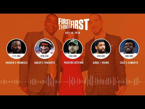 First Things First audio podcast (7.19.19)Cris Carter, Nick Wright, Jenna Wolfe | FIRST THINGS FIRST