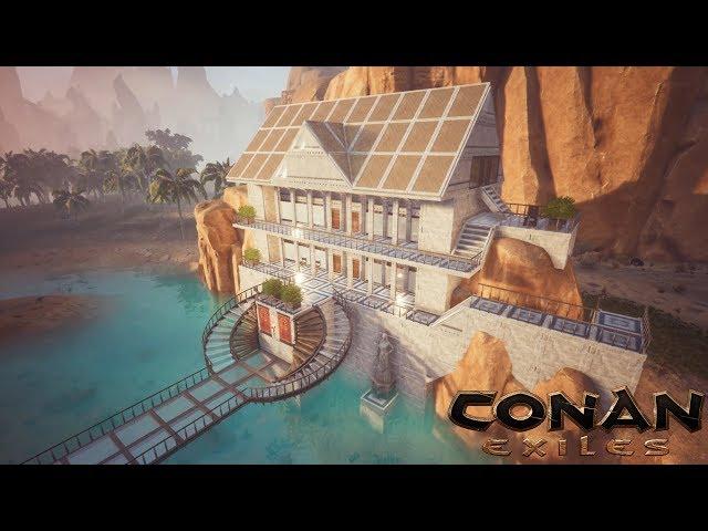 Conan Exiles - Beach House (Speed Build)