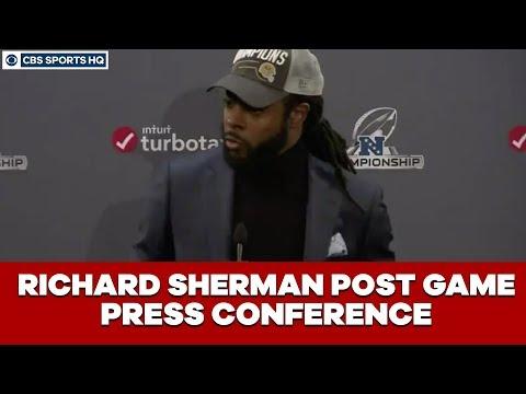 Richard Sherman Post Game Press Conference: NFC Championship  CBS Sports HQ
