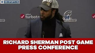 Richard Sherman Post Game Press Conference: NFC Championship | CBS Sports HQ