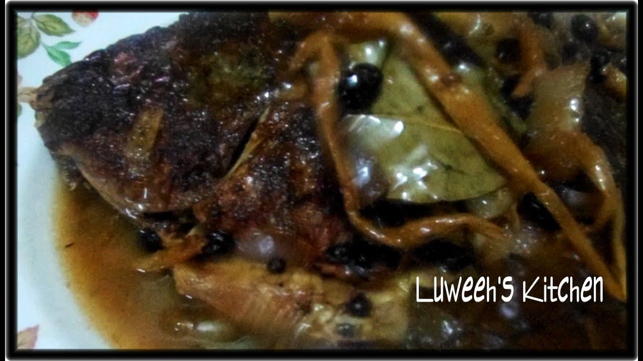 how to cook paksiw na tilapia