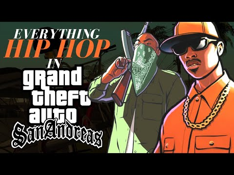 Everything Hip Hop In GTA San Andreas