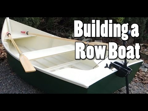 12 yr Old Builds a Row Boat!!
