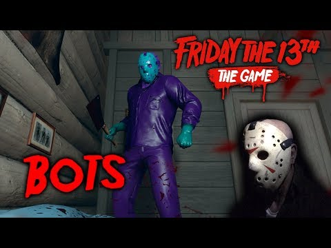 Friday the 13th the game - Gameplay 2.0 - Retro Jason