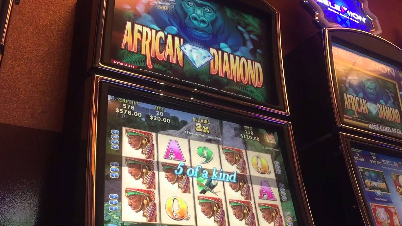 win slot jackpot by african konami right diamond watch big youtube after