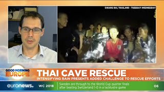 Thai Cave Rescue: intensifying rain presents added challenge to rescue efforts