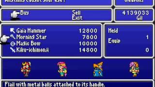 Game Boy Advance Longplay [106] Final Fantasy V Advance (part 5 of 7)
