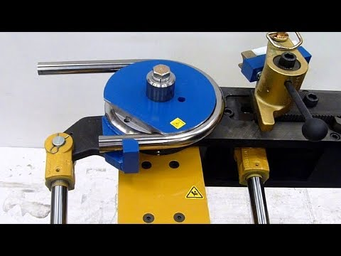 Amazing Technology Tube Bender Machine, Modern Homemade Metal Bender Machine And Rod Bending Tool