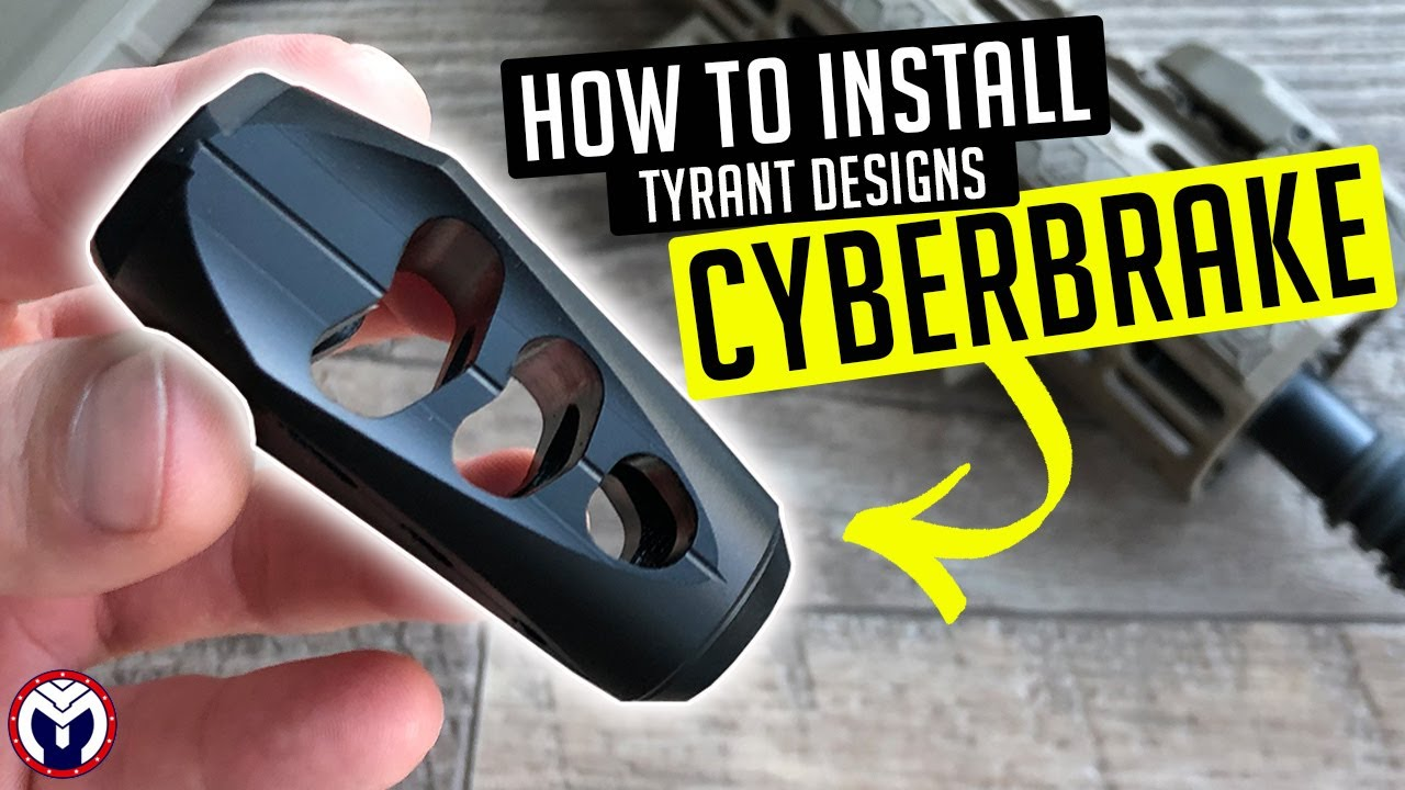 How to Install Tyrant Designs CyberBrake | MustyYeti