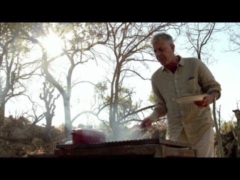 Johannesburg: Meat on plate, blood on pants (Anthony Bourdain Parts Unknown, South Africa)