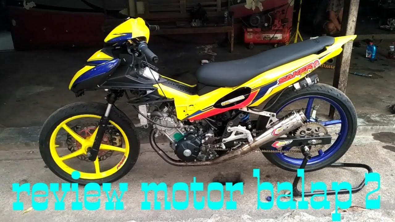 Jupiter Mx King Sakera Racing Review Motor Balap Youtube