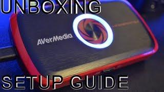 Avermedia Live Gamer Portable Unboxing/Set Up