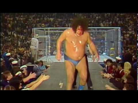 WWF Andre The Giant vs. Kamala Cage Match 10/21/84