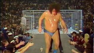 WWF Wrestling  Andre The Giant vs. Kamala Cage Match 10/21/84