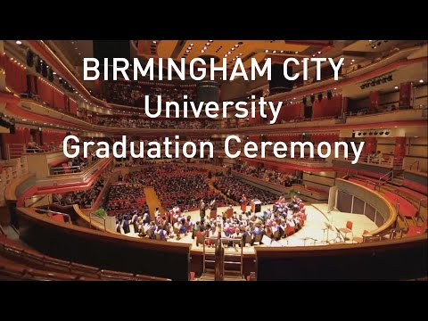 Birmingham City University graduation ceremony - 28 July 2016 PM