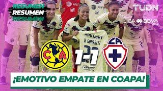 Resumen y Goles | América 1 - 1 Cruz Azul | Liga MX Femenil - J 18 - AP 2019 | TUDN