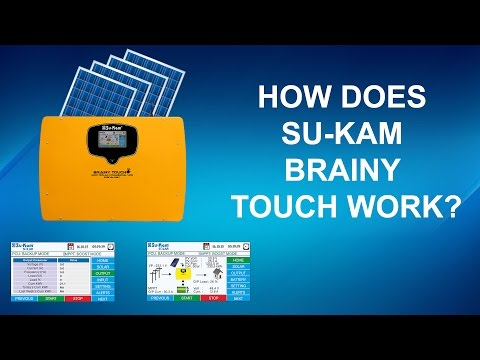 How does a 2.5KVA Off-Grid Solar Power System work? Su-Kam Brainy Touch