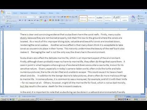 Effect Essay.