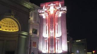 Video Marquee Unveiled Outside Forum Shops at Caesars Palace