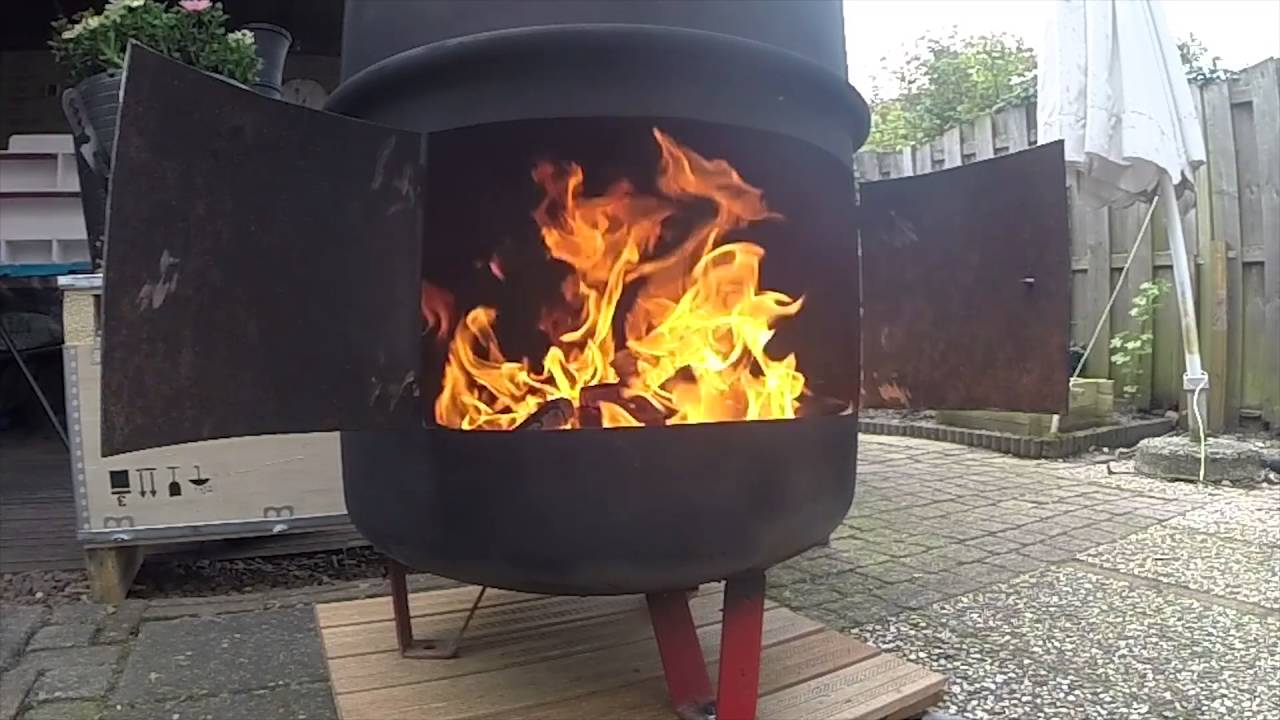 Homemade Fire Barrel Youtube