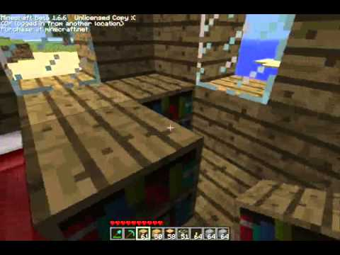 Quest voor ijzer minecraft deel 2 doovi for Huis maken minecraft