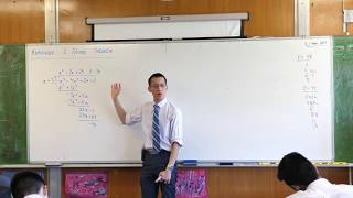 Remainder & Factor Theorem (1 of 2: How do we calculate remainders without dividing?)