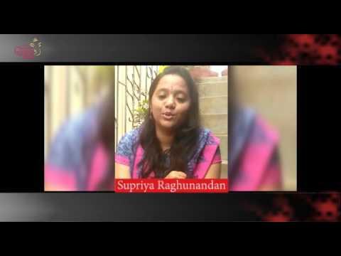 Supriya Raghunandan @ 54th Bengaluru Ganesh Utsava...!!!!