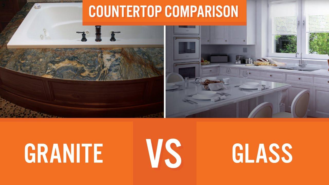 Granite Vs Gl Countertop