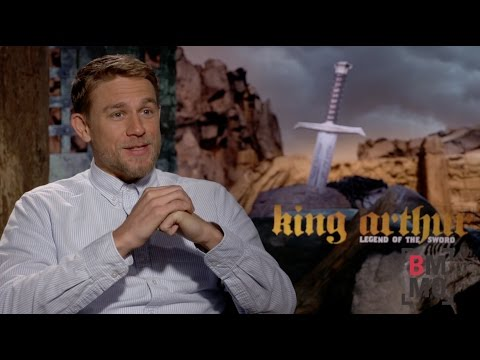 Charlie Hunnam Interview - King Arthur: Legend of the Sword