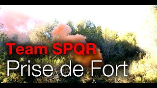 Prise de fort - Paintball Scénario Camo en Foret - France