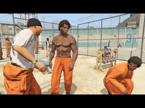 החיים האמיתיים פרק #10 החיים בבית כלא!!! (גיטיאיי 5 מודים) - GTA 5 Mods