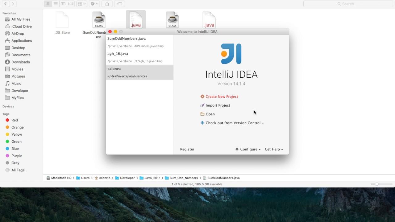 Java Tutorial - IntelliJ IDEA First Command Line Program in Java