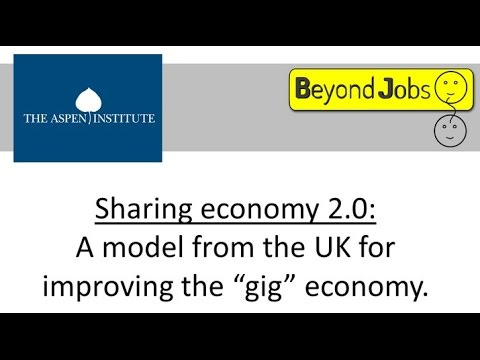 Sharing Economy 2.0: A Model from the UK for Improving the Gig Economy for Workers