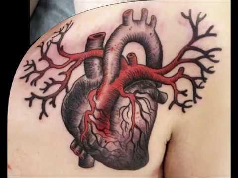 Tatuajes de Corazones Reales organo Ideas para tu tatuaje