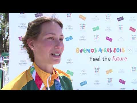 South Africa's Amber Schlebusch Wins Women's Individual Triathlon Gold at Summer Youth Olympic Games